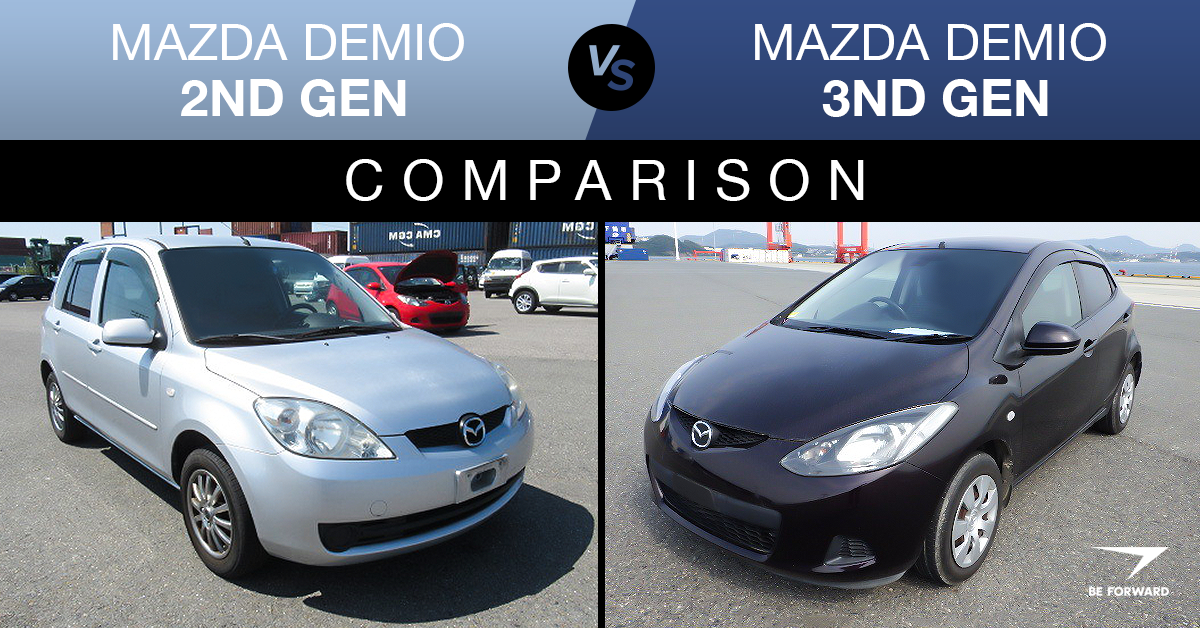Mazda Demio 2nd Vs 3rd Generation Comparison Features Price Difference