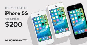 Buy Cheap Used iPhone 5S Models - BE FORWARD