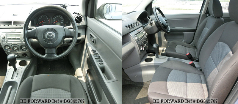 mazda demio 2nd gen interior