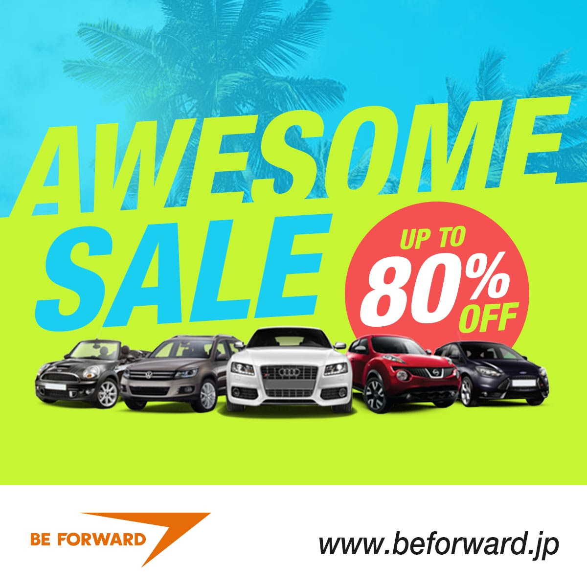 Awesome Sale - Up to 80% Off Japanese Used Cars