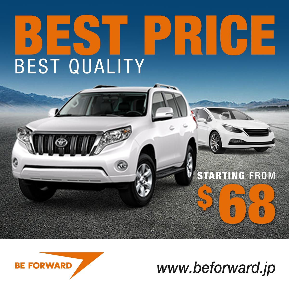 Best Price, Best Quality Sale - Find Japanese used cars from $68!