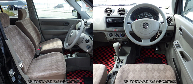 suzuki alto interior vs swift