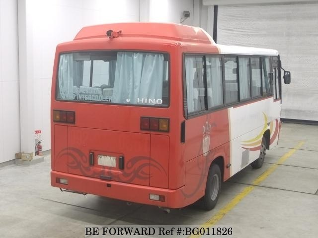 A used 1993 Hino Rainbow from online used car exporter BE FORWARD.