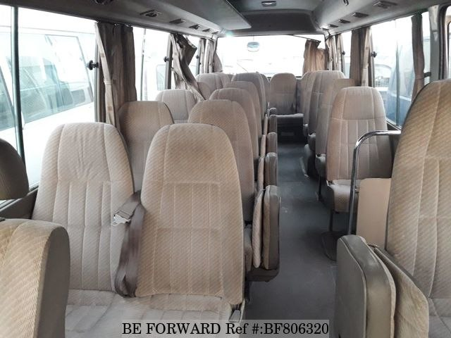 A used 1996 Toyota Coaster Interior - BE FORWARD
