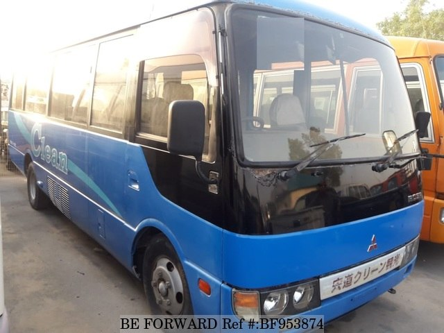 A used 1998 Mitsubishi Rosa Bus from online used car exporter BE FORWARD.