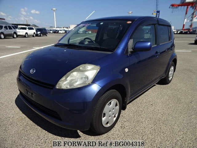 A used 2006 Daihatsu Boon from online used car exporter BE FORWARD.