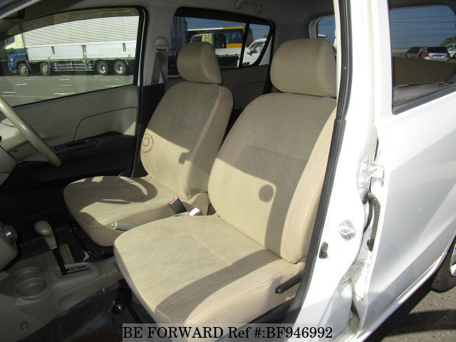 The interior of a used 2009 Daihatsu Mira from online used car exporter BE FORWARD.