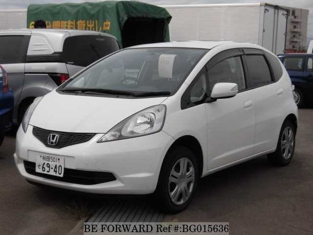 A used 2009 Honda Fit from online used car exporter BE FORWARD.