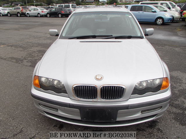 The front of a used 1999 BMW 3 Series from BE FORWARD.