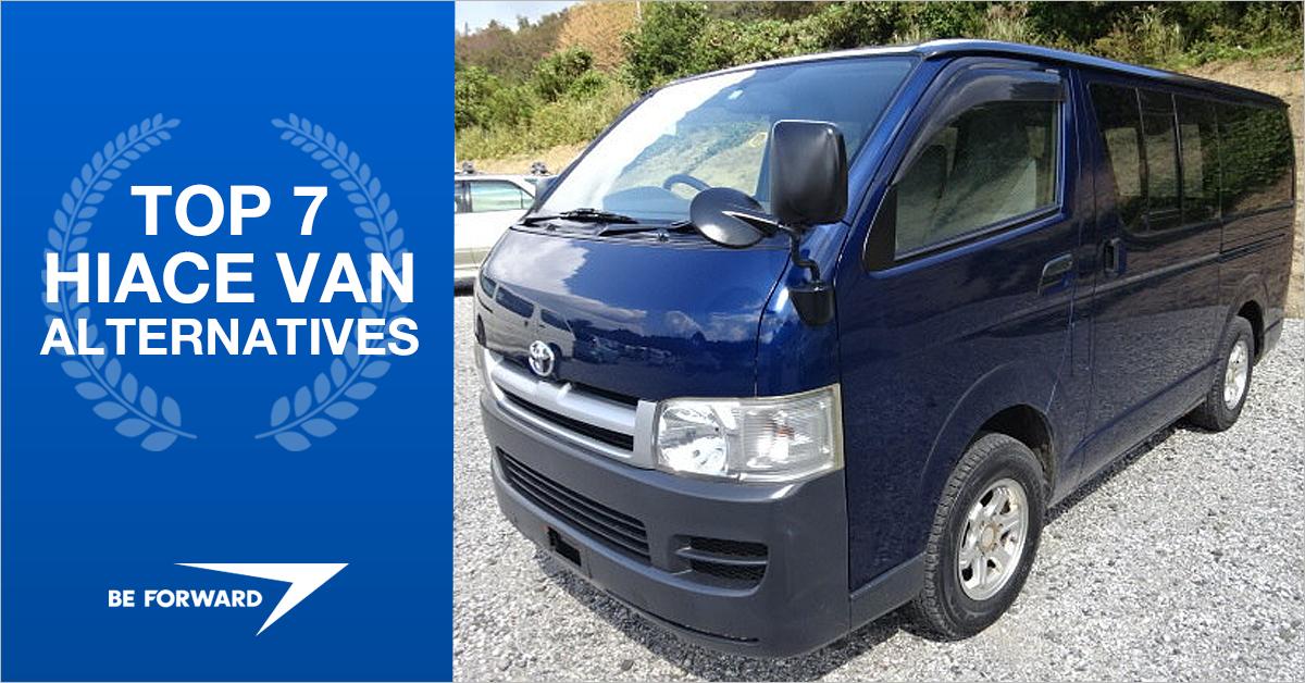 Top 7 Used Toyota HiAce Van Alternatives