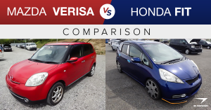 Mazda Verisa vs. Honda Fit
