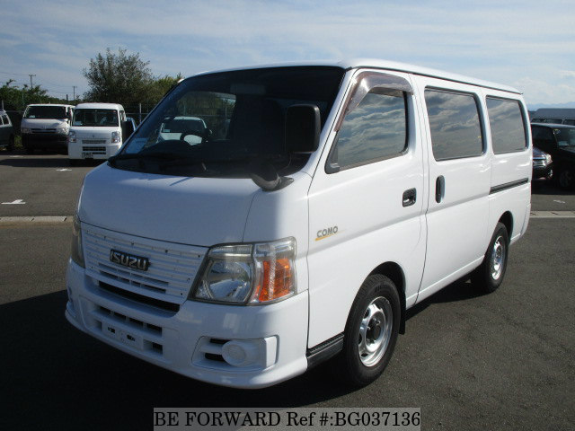 front of a used isuzu como toyota hiace alternative from be forward
