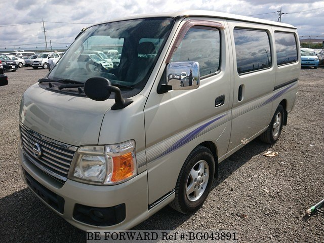 front of a nissan caravan toyota hiace alternative from be forward