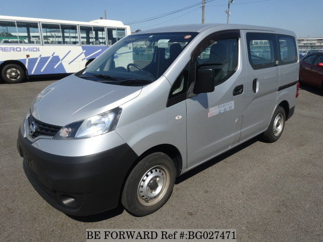 front of a used nissan vanette hiace alternative from be forward