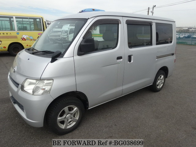 front of a used toyota liteace hiace alternative from be forward