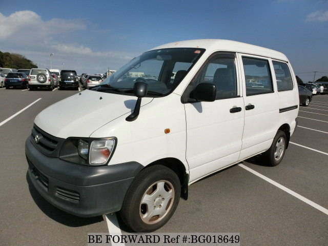 front of a used toyota townace hiace alternative from be forward
