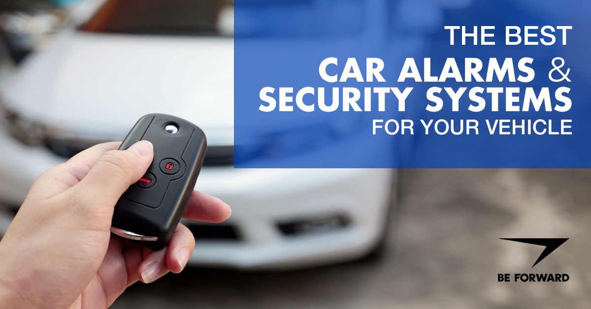 alarms and security systems for used cars