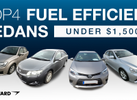 Top 4 Fuel Efficient Used Sedans for Under $1,500 at BE FORWARD