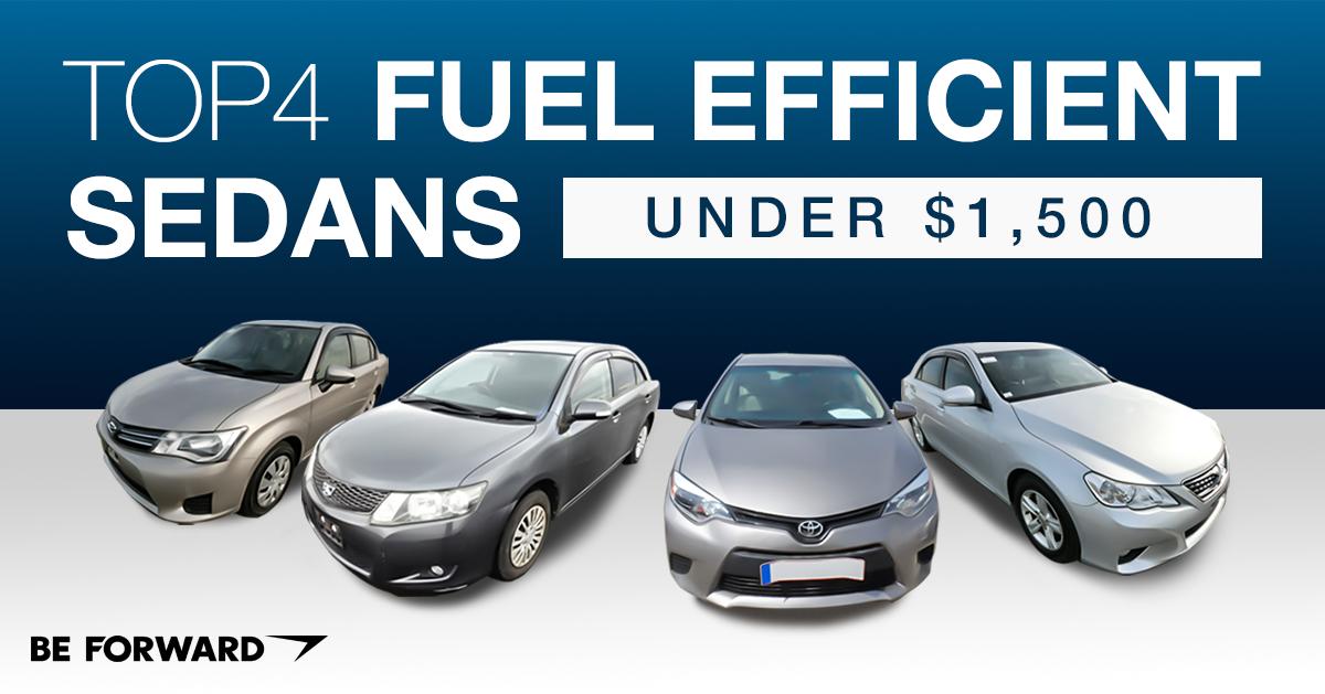 top 4 fuel efficient used sedans for under 1 500 at be forward. Black Bedroom Furniture Sets. Home Design Ideas