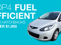 Top 4 Fuel Efficient Used Hatchbacks for Under $1,000