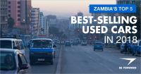 Zambia's Top 5 Best-Selling Used Cars in 2018