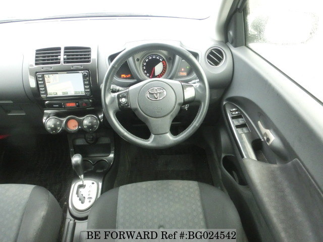 interior of a used 2008 Toyota IST from car exporter BE FORWARD