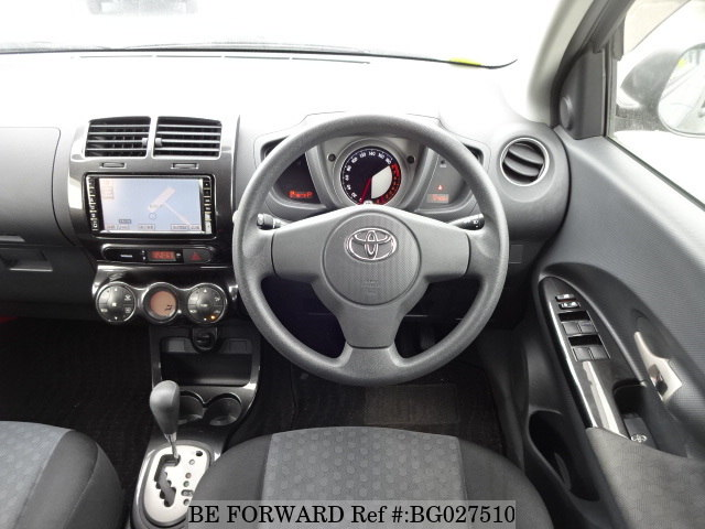 interior of a used 2008 toyota ist from japanese car exporter be forward