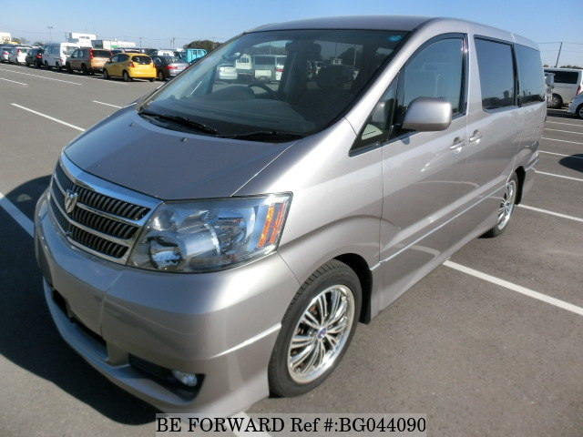 toyota alphard front view for zambia