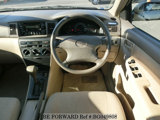 used toyota corolla interior and exterior features