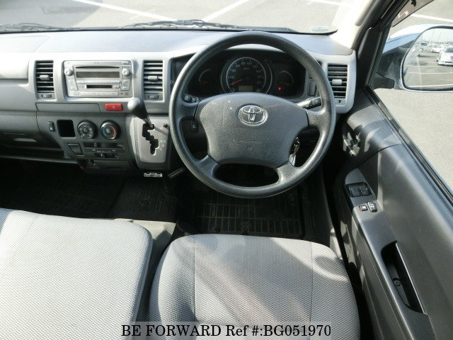 interior features of a used toyota hiace available in zambia