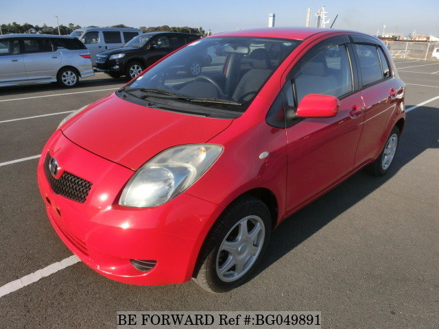 best selling used hatchback toyota vitz from be forward