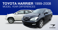 Toyota Harrier 1999-2008 Model Year Differences, Improvements and Features