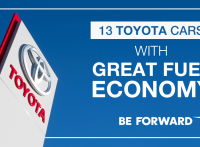 13 Toyota Cars with Great Fuel Economy