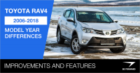 Toyota RAV4 2006-2018 Model Year Differences Improvements and Features