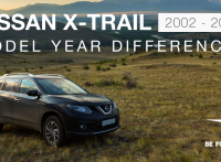 Nissan X-Trail 2002-2012 Model Year Differences, Improvements and Features