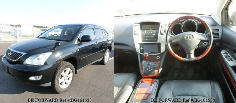toyota harrier top suv