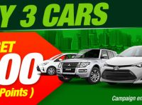 【APRIL CAMPAIGN】Buy 3 Cars and Get $300 (300 Points) Campaign for D.R. Congo