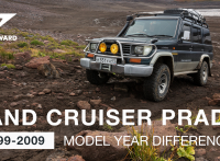 Toyota Land Cruiser Prado – 1999-2009 Model Differences and Improvements