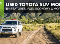 Top 5 Used Toyota SUV Models by Features, Fuel Economy & More