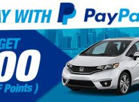 Pay with PayPal and Get $100 (100 Points) Campaign