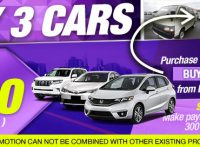 【JUNE CAMPAIGN】Buy 3 Cars and Get $300 (300 Points) for D.R. Congo