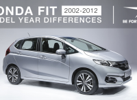Honda Fit – 2002-2012 Model Differences, Changes and Improvements