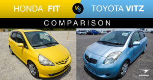 honda fit vs toyota vitz features comparison