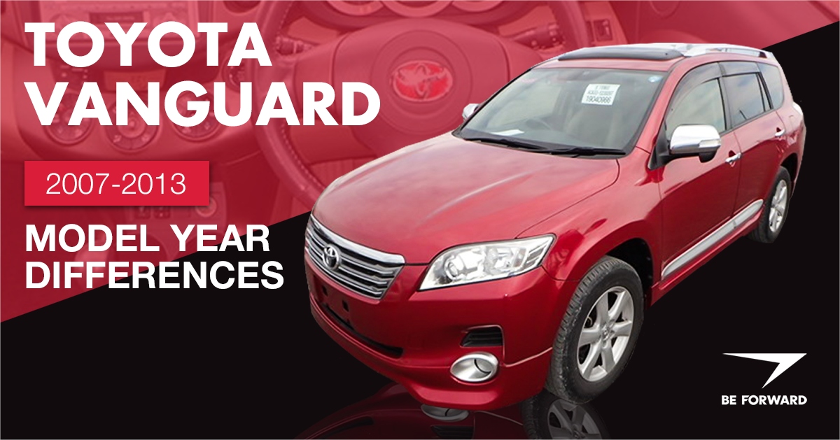 toyota vanguard car summary review