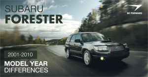 subaru forester features summary and review
