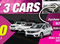 【JULY CAMPAIGN】Buy 3 Cars and Get $300 (300 Points)