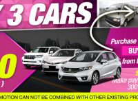 【JULY CAMPAIGN】Buy 3 Cars and Get $300 (300 Points) for D.R. Congo