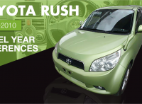 Toyota Rush – 2006-2010 Model Year Difference & Improvement Review