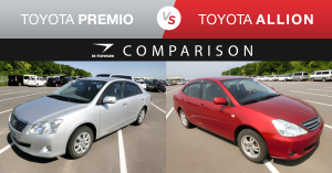 toyota premio vs allion comparison