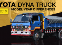 Toyota Dyna Truck Review: 2001-2010 Model Year Feature Differences